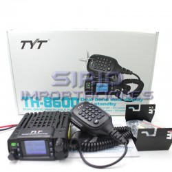 RADIO MOVIL TYT DUAL BANDA 25W, MODELO TH-8600