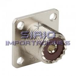 CONECTOR UHF PL259-F