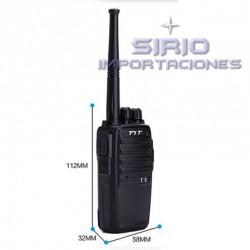 RADIO PORTÁTIL TYT-T5 UHF, 5W
