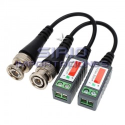 VIDEO BALUN PAR, CAMARAS DE SEGURIDAD CCTV