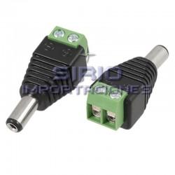 CONECTOR FICHA JACK POWER HEMBRA PLUG 5.5X2.1...