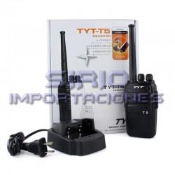 RADIO PORTÁTIL TYT-T5 VHF, 7W