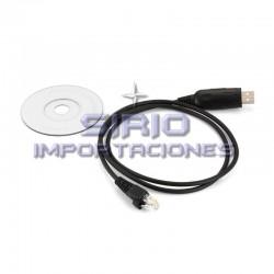 CABLE RIB DE PROGRAMACION BASE ICOM USB-RJ45